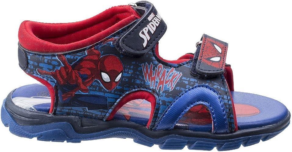 Leomil Boys Spiderman Adjustable Lightweight Trainers