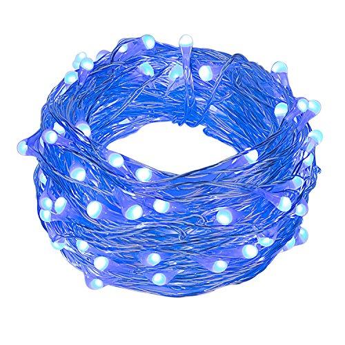 10M 100 Led Fairy Light String Christmas Lights Blue - 7