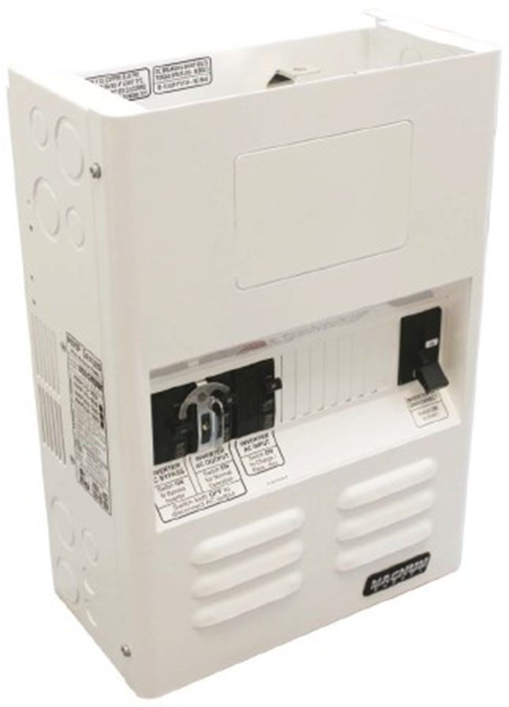 Magnum Energy MMP175-60S MMP Series Mini Magnum Panel with 175A (fits 48 VDC models) DC Breaker and 60A Single Pole AC Input Breaker, Battery/inverter DC disconnect breaker (175 or 250 amps), Inverter AC input overcurrent protection breakers by Magnum Energy