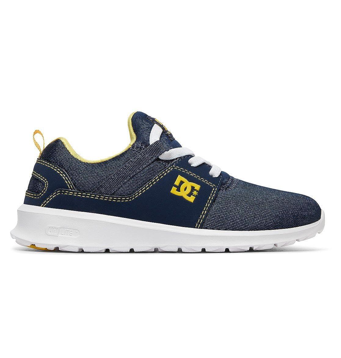 DC Shoes Heathrow B, espadrilles Garçon 27.5 - EU|Bleu - 27.5 Navy/Yellow e8d388