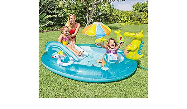 TongNS2 Piscina Hinchable Cuadrada Plegable Juguetes para Inflable ...