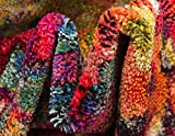 Unique Loom Jardin Collection Colorful Abstract