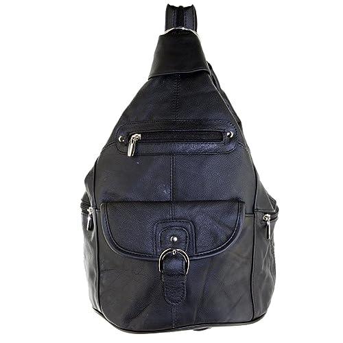 b7ff46f508fcf Silver Fever 3611 - Bolso mochila para mujer multicolor negro mediano   Amazon.es  Zapatos y complementos