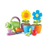 Learning Resources New Sprouts Grow It! Toddler Gardening Set, Outdoor Toys, Pretend...