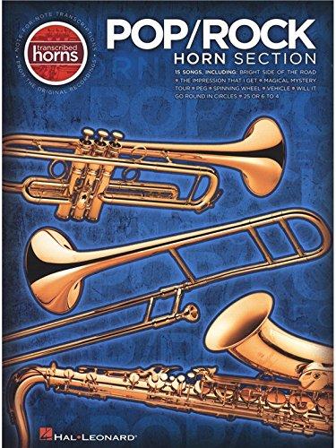 (Pop/Rock Horn Section - Transcribed Horns. Partitions pour Saxophone, Trombone, Trompette)