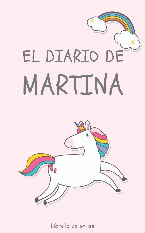 Amazon.com: El Diario de Martina Libreta de Notas: Cuaderno ...