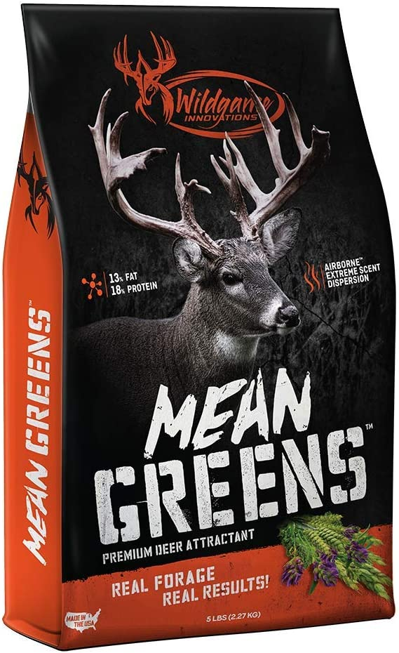 Wildgame Innovations Mean Greens Deer Supplement 5lb, Premium Wildlife Attractant