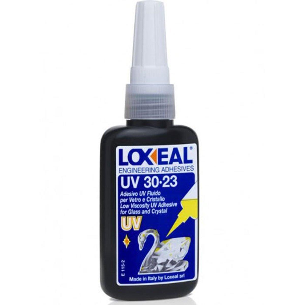 LOXEAL ADESIVO UV 30-23 50ML adesivo indurente vetro e cristallo GLD Forniture