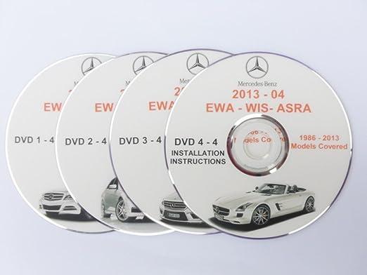 MERCEDES BENZ WIS ASRA EPC 2012 ALL MODELS 1986 - 2012