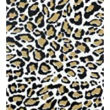 Jaguar Gold Oil Cloth each yard