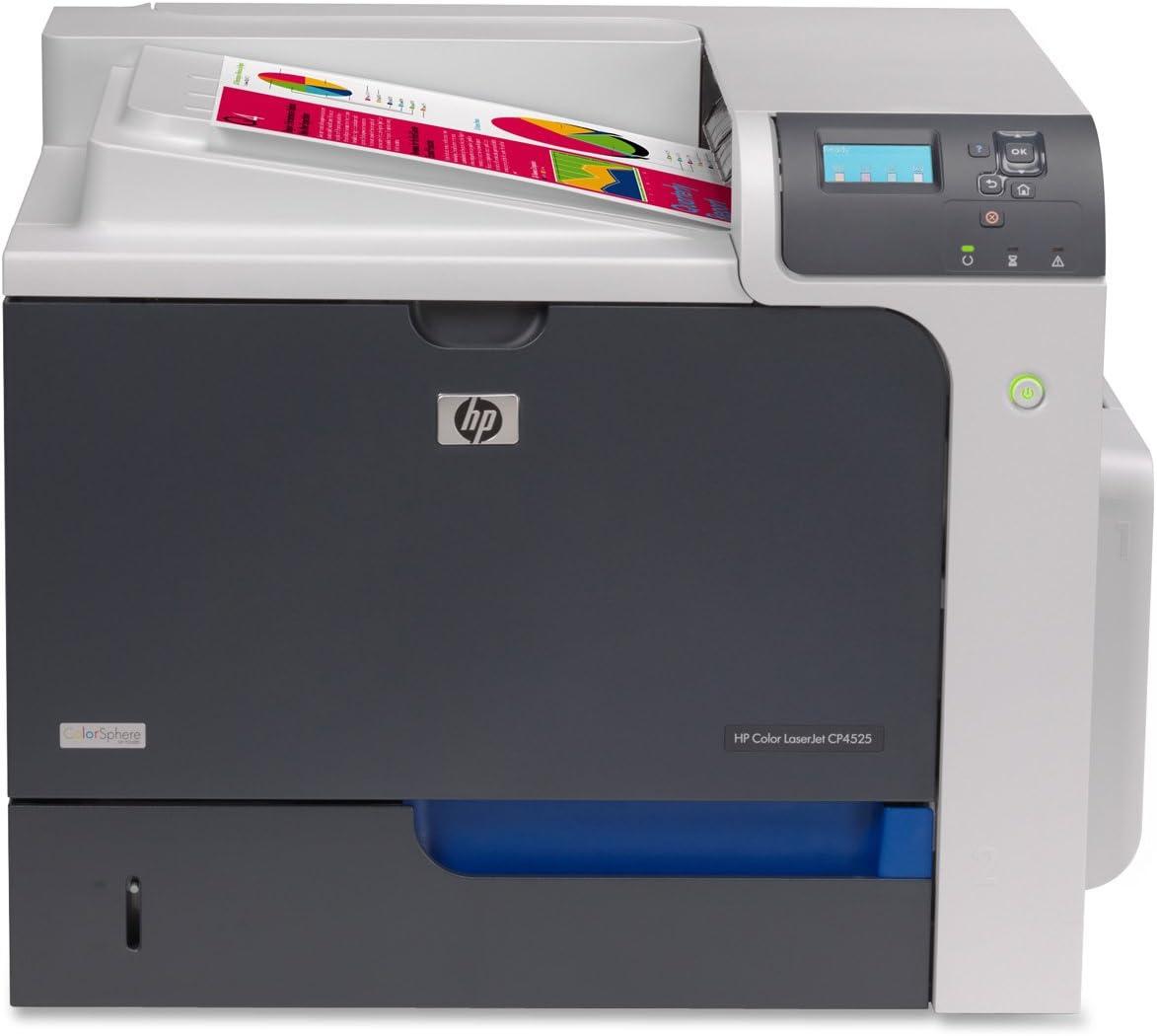 HP Color Laserjet Enterprise CP4525n Printer - Black/Silver (CC493A)