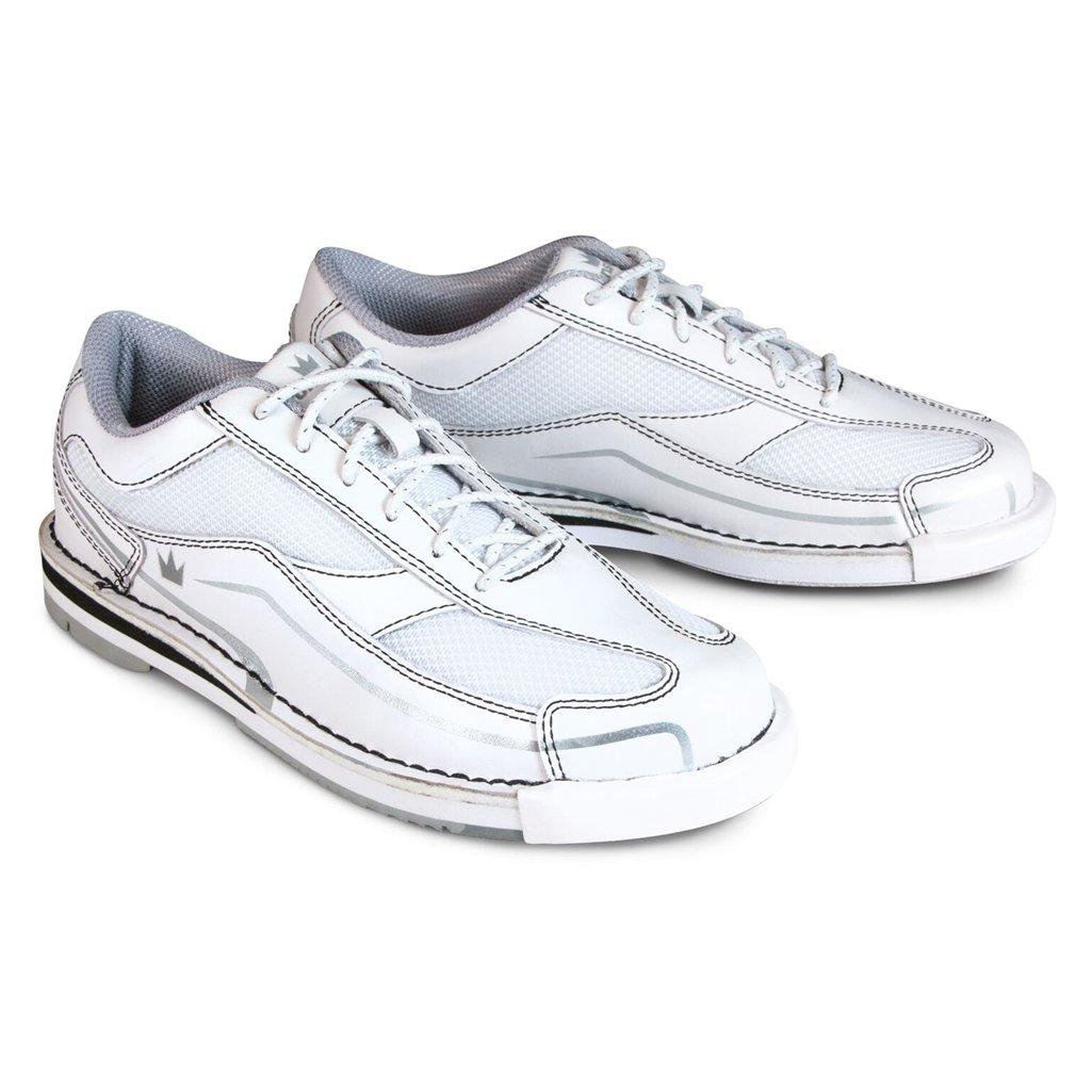 Brunswick Women's Team Brunswick Bowling Shoes, White/Silver, Size 8.5