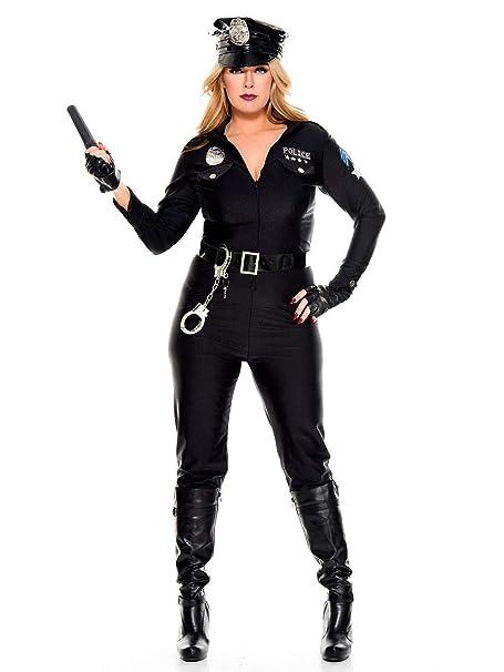 Amazon.com: Disfraz de teniente de policía de musica para ...
