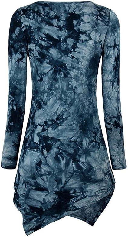 Vovotrade Mujer Mode Casual Chica Camiseta Top Elegante Blusa de ...