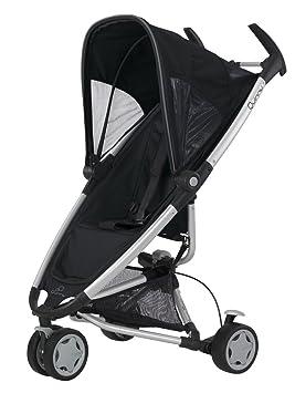 Quinny 65605020 Zapp - Silla de paseo con cesto de la compra, capota, protector para la lluvia y adaptador para capazo (3 ruedas), color negro: Amazon.es: ...