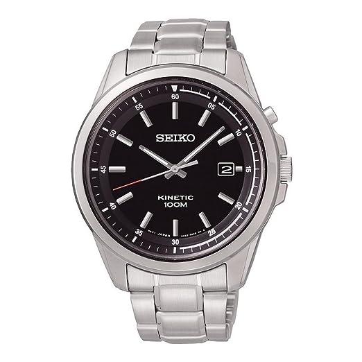 Amazon.com: Reloj Seiko Neo Sports ska677p1 Negro Hombre ...