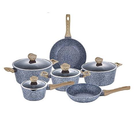 Berlinger Haus 10 piezas juego de ollas sartenes ollas BH 1565