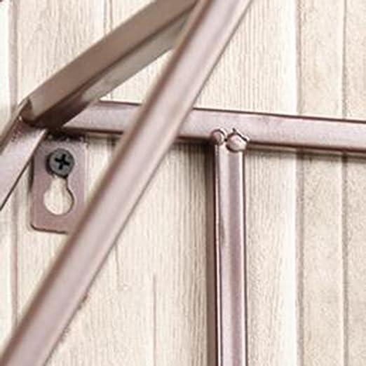 Estante de flores de madera ---- Negro / Blanco / Canela Creatividad Tapiz Hierro Estante De Flores En La Pared Multicapa Balcón Expositor Sala De Estar ...