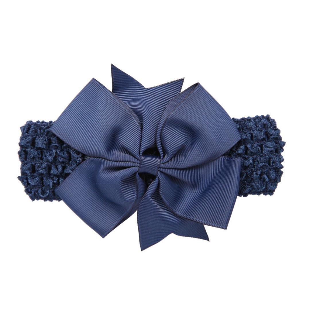 Huhu833 Baby M/ädchen Stirnb/änder Bowknot Haar Zus/ätze f/ür M/ädchen S/äuglings Haarband