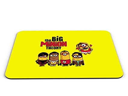 Amazon.com : The Big Minion Theory Mouse Pad Pop Culture ...