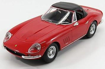 Ferrari 275 Gtb 4 Nart Spyder Rot 1967 Modellauto Fertigmodell Kk Scale 1 18 Amazon De Spielzeug