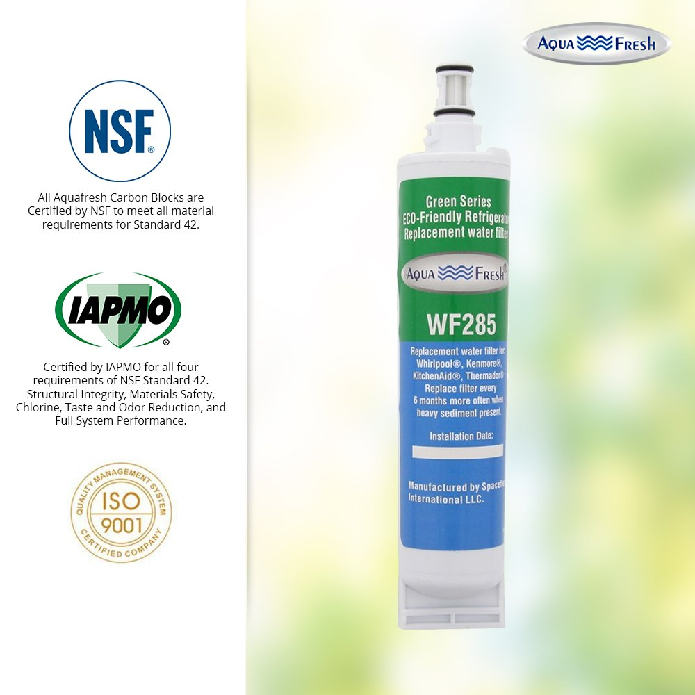 Aqua Fresh WF285 Replacement Refrigerator Water Filter for Whirlpool 4396508, EDR5RXD1, 46-9010, WSL-2 by Aqua Fresh (Image #7)