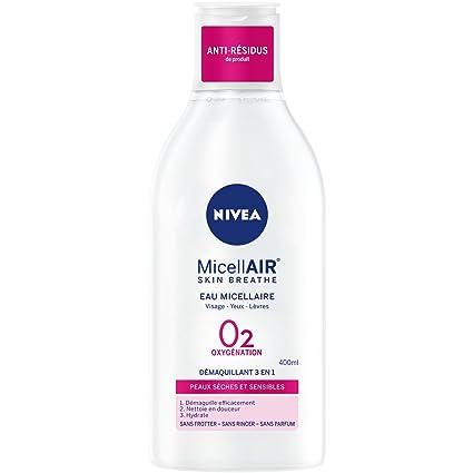 Nivea Eau Micellaire 0% piel seca/sensibles 400 ml