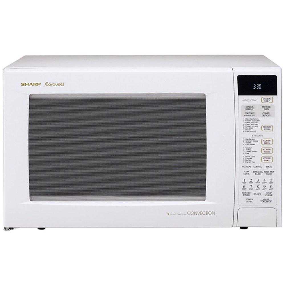 Sharp R-930AK 1-1/2-Cubic Feet 900-Watt Convection Microwave, Black R930AK