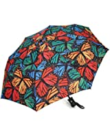 Harold Feinstein Automatic Open and Close Mosaic Butterfly Umbrella