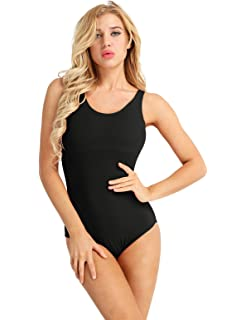 e263135c5 Amazon.com  Arshiner Women s Tank Leotard  Clothing