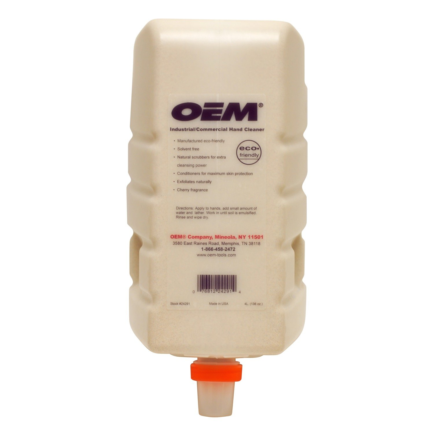 OEMTOOLS 24291 4-Liter Hand Cleaner Refill Bottle