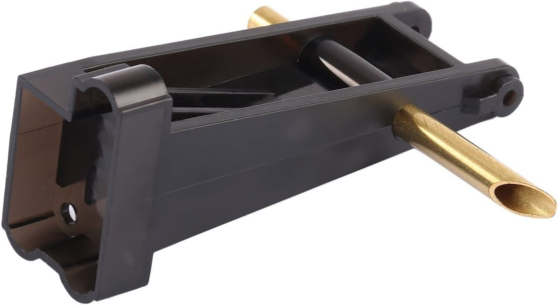 BIYI Feilun FT011-4 Stern Rudder Pi/èces Kit Raccords Queue Gouvernail Assemblage Aileron Eau Scalpel Plaque De Pression Deau pour Bateau FT011 RC Noir