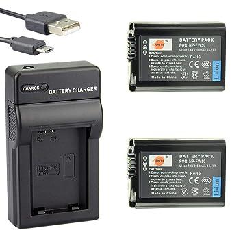 sustituye batería np-fw50 950mah Li-ion batería para cámara Sony dsc-rx10 IV