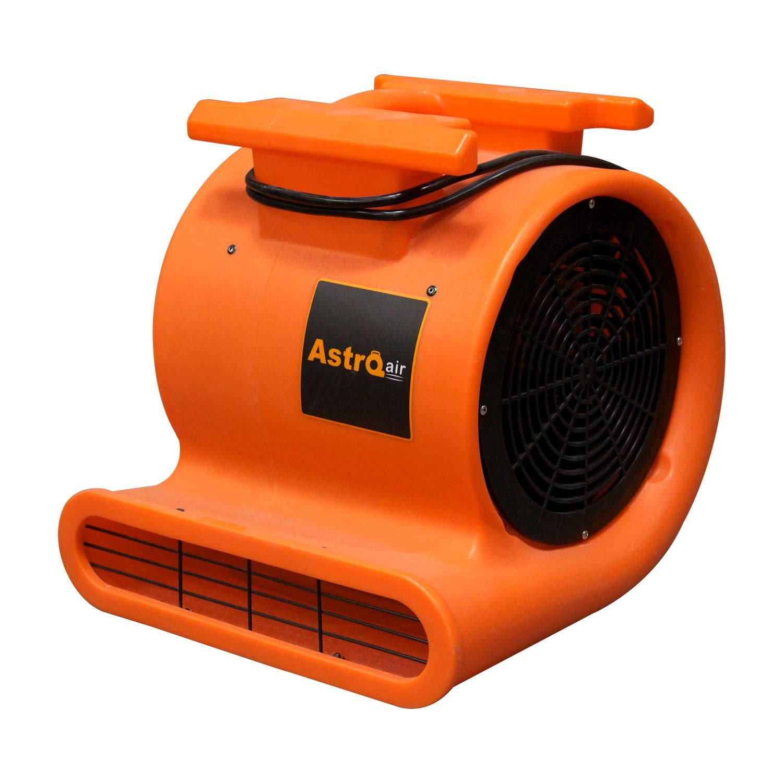 AstroDry Pro Air Mover Carpet Floor Dryer 3 Speed 1 HP 2000 CFM High Velocity Blower Fan for Industrial Water Flood Damage Restoration, Ventilation & Cleaning-Orange,AD100 by AstroDry
