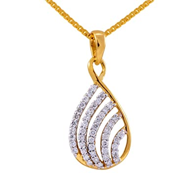 Buy joyalukkas pride diamond collection 18k yellow gold and diamond joyalukkas pride diamond collection 18k yellow gold and diamond pendant mozeypictures Images