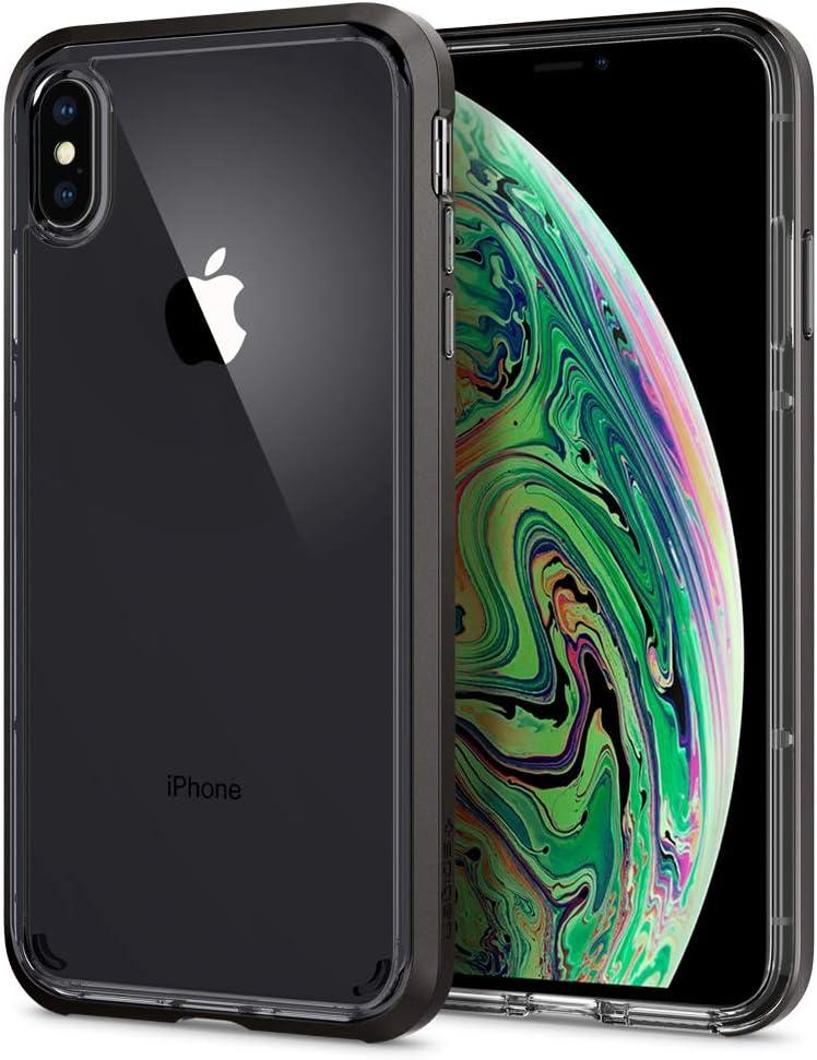 Spigen Neo Hybrid Crystal Designed for Apple iPhone Xs MAX Case (2018) - Gunmetal