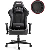 Gaming Chair with Speakers Video Game Chair Racing Style Ergonomic Office Chair Adjustable Computer Home Chair with…
