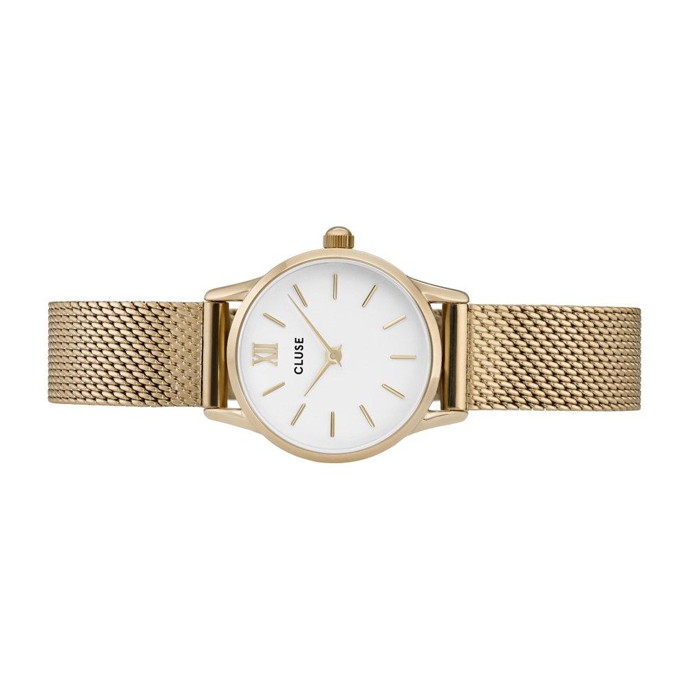 Cluse Reloj Analógico para Mujer de Cuarzo con Correa en Acero Inoxidable CL50007: Cluse: Amazon.es: Relojes