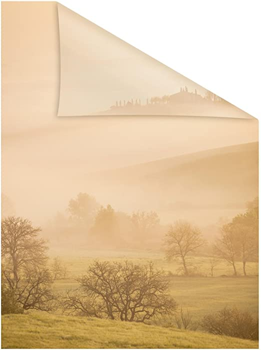 1 l/ámina de 48 x 48 cm Decoraci/ón Adhesiva 152915 para Ventana Toscana Vynil 48 x 68 cm Multicolor
