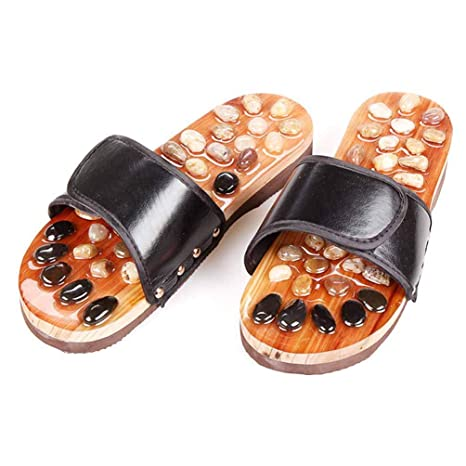 57da92e66797f WODEQ Reflexology Shoes Feet Massager, Acupressure Slippers Unisex ...