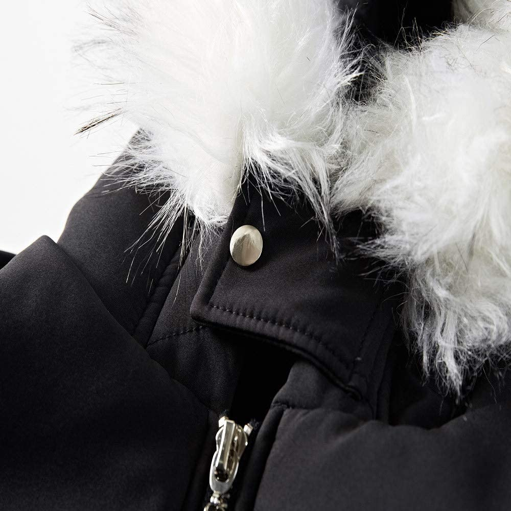 Pandaie-Mens Product Long Trench Coat Men Plus Size Hooded Zipped Fleece Coat Cotton-Padded Jacket