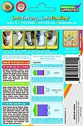 Pawflex Bandages Basic Bandages for Pets (2 Standard, 2 Wide) Large/Xlarge