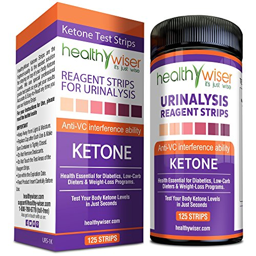 Ketone Strips 125ct - Great for Diabetics & Ketosis ...