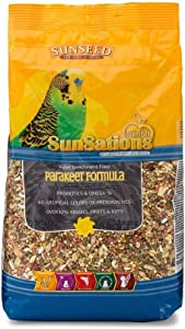 Sunseed SunSations Natural Parakeet Formula, 2.25 Pound Bag