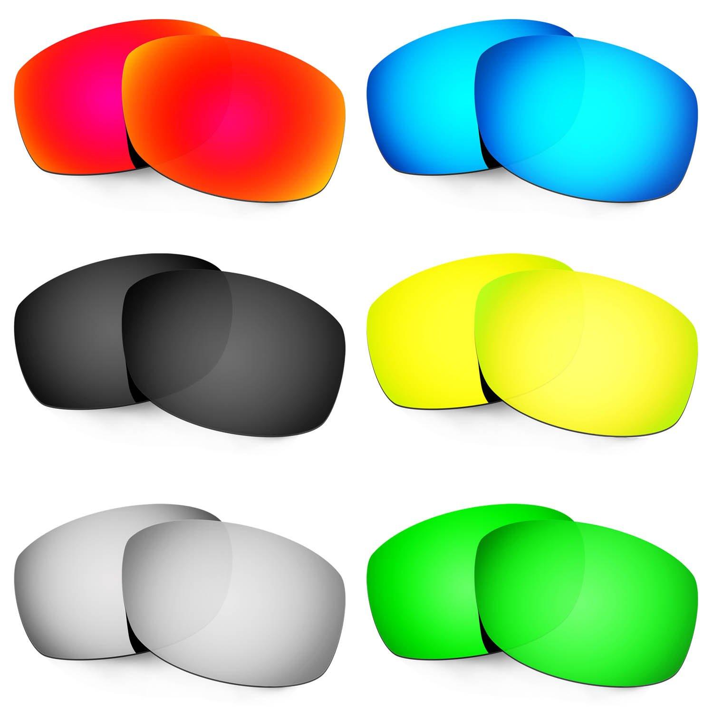 6 pair Hkuco Plus Mens Replacement Lenses For Costa Zane