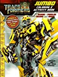 Transformers Jumbo Coloring & Activity Book ~ Bumblebee (96 Pages)