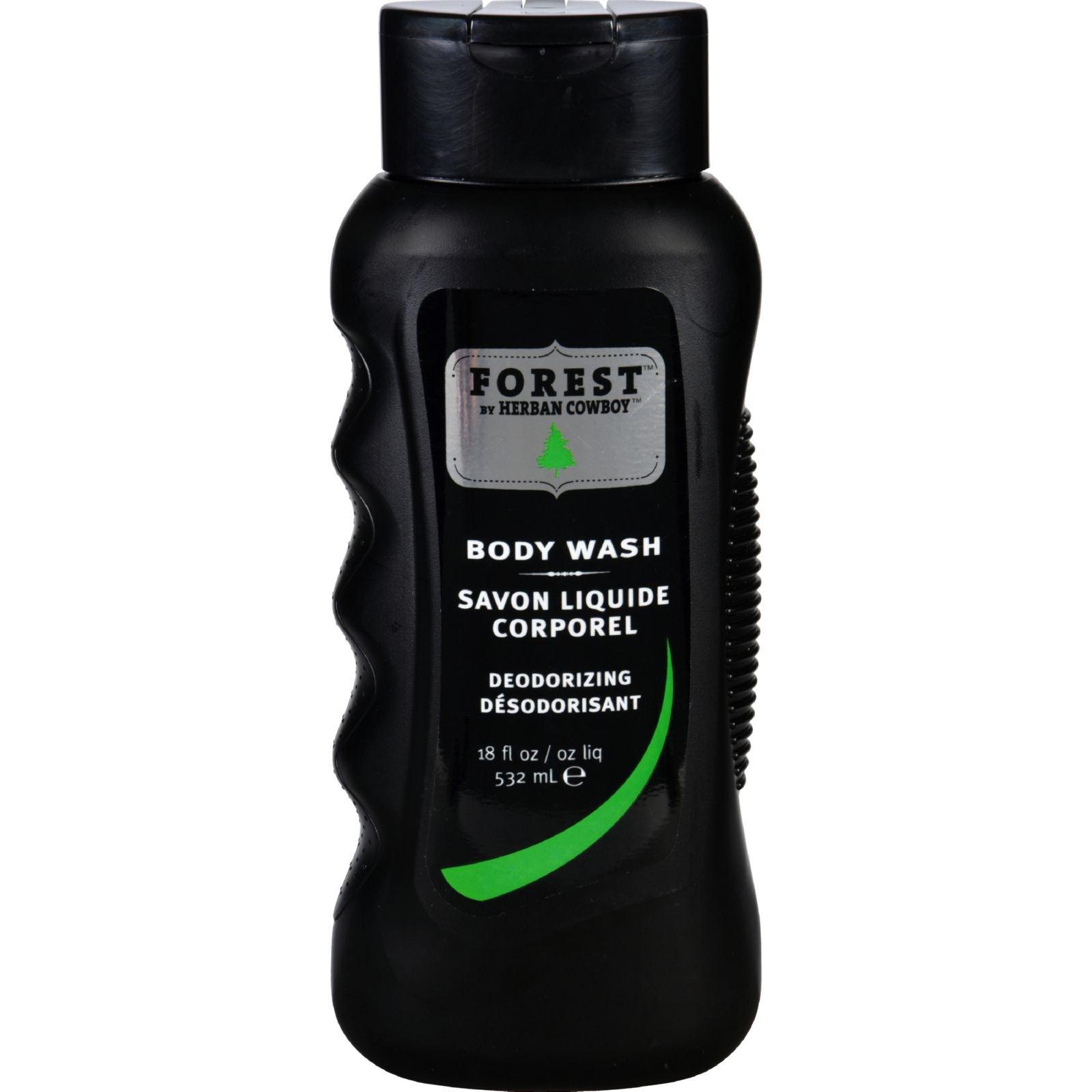 Herban Cowboy Forest Body Wash, 18 Ounce