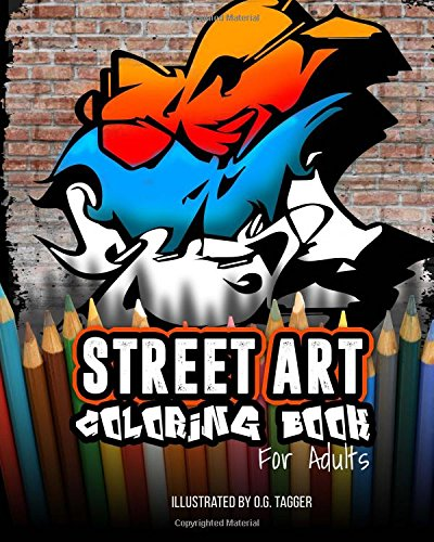 Street Art Coloring Book Adults product image