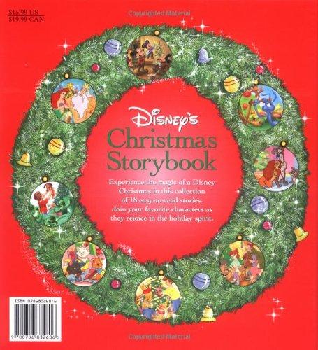 disneys christmas storybook collection disney storybook collections elizabeth spurr 9780786832606 amazoncom books - Disney Christmas Storybook Collection