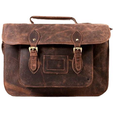 Satchel Bags - Bolso estilo cartera para mujer marrón